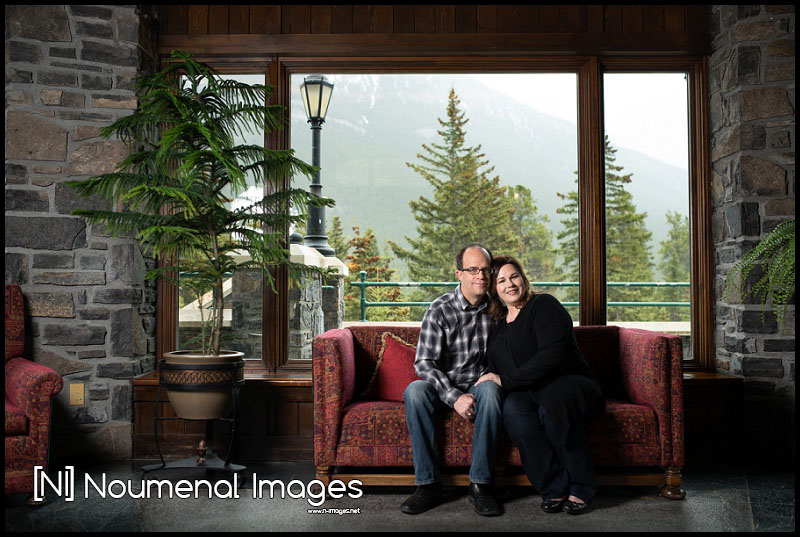 Noumenal Images - Engagement Photography- Banff Springs Hotel003