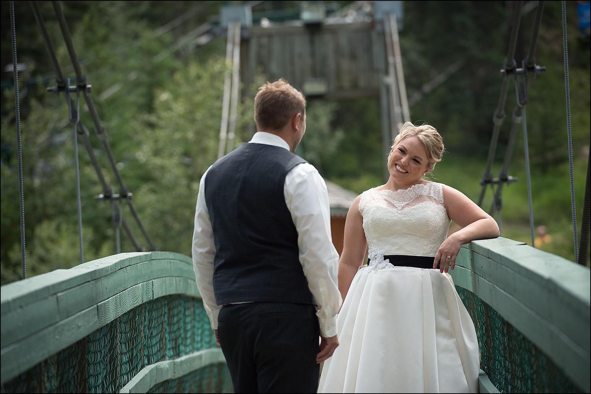 Panorama Mountain Wedding