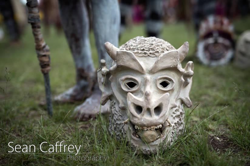 Asaro Mudmen mask