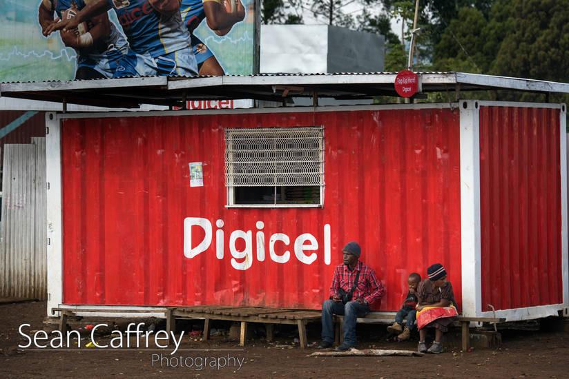 Digicel store in Mount Hagen