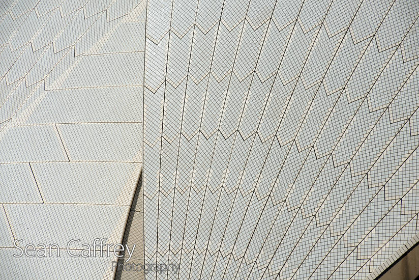 Roof of Sydney Opera House
