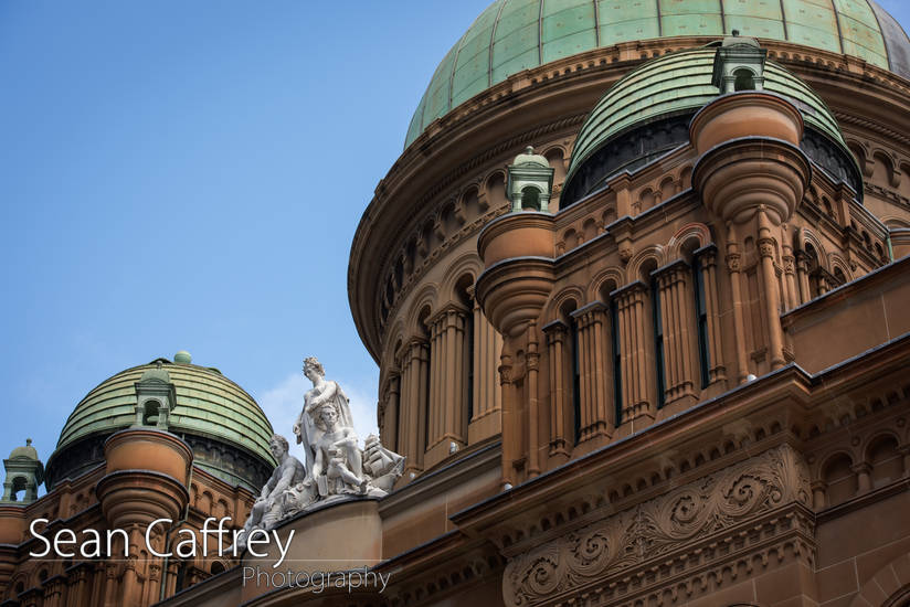 Queen Victoria Building roof